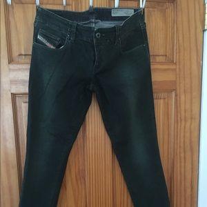 Diesel jeans in green